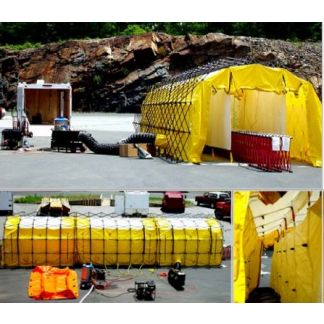 High Capacity Decontamination System